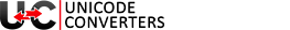 Unicode Converters